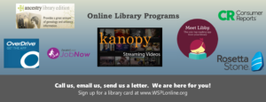 Western Sullivan Public Library online resources