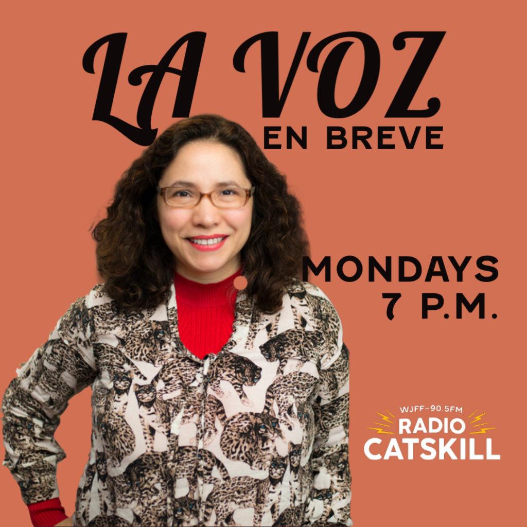 La Voz En Breve at 7 P.M.  This week, Sandra Cisneros, Martita, I remember you