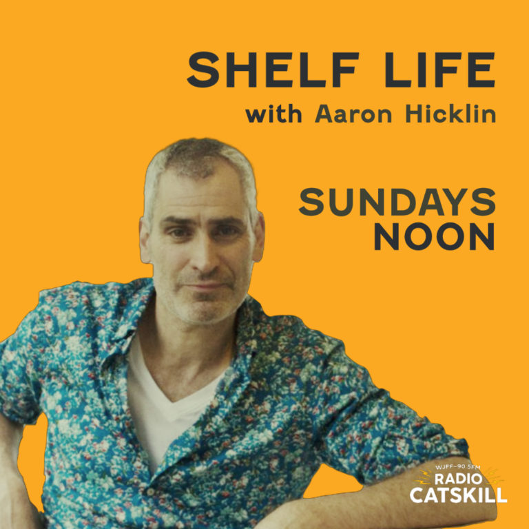 Shelf Life with Aaron Hicklin Sunday at Noon